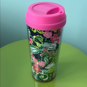 Lilly Pulitzer Travel Lidded Cup